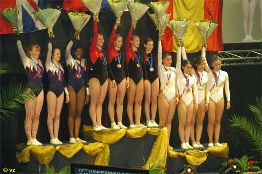 RUS - Youth European Double Mini Trampoline Team Champion 2006