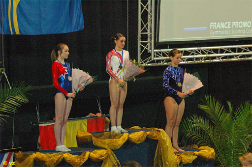 Noelia Serrano, ESP - Youth European Double Mini Trampoline Champion 2006
