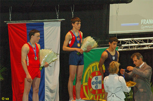 Pavel Gorchakov, RUS - Youth European Double Mini Trampoline Champion 2006